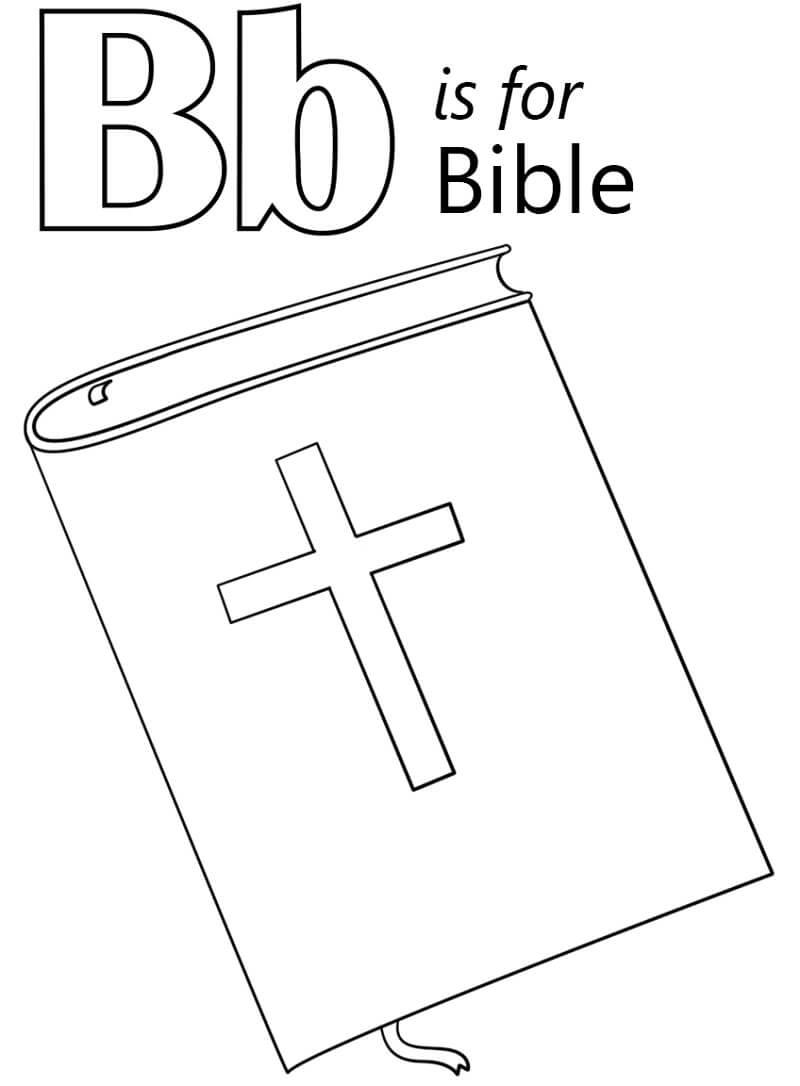 Desenhos de Letra B 5 para colorir