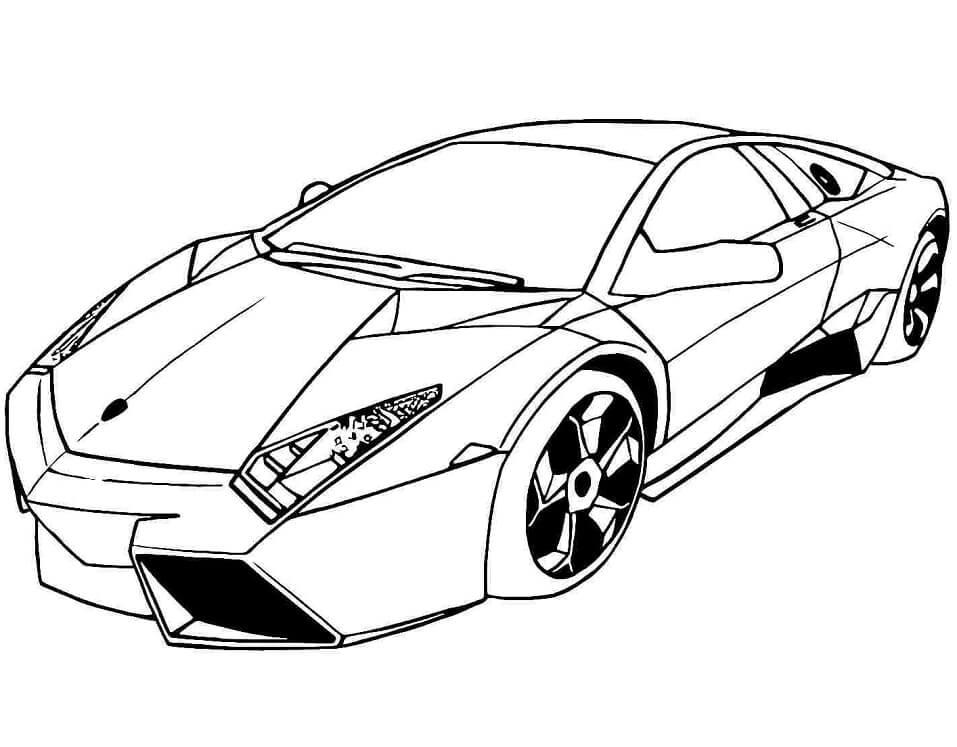 Desenhos de Lamborghini Reventon para colorir
