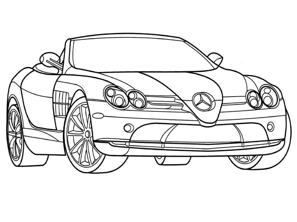 Desenhos de Mercedes-Benz para colorir