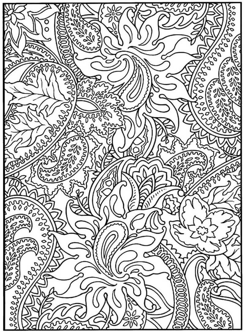 Desenhos de Padrão Extraordinário para colorir