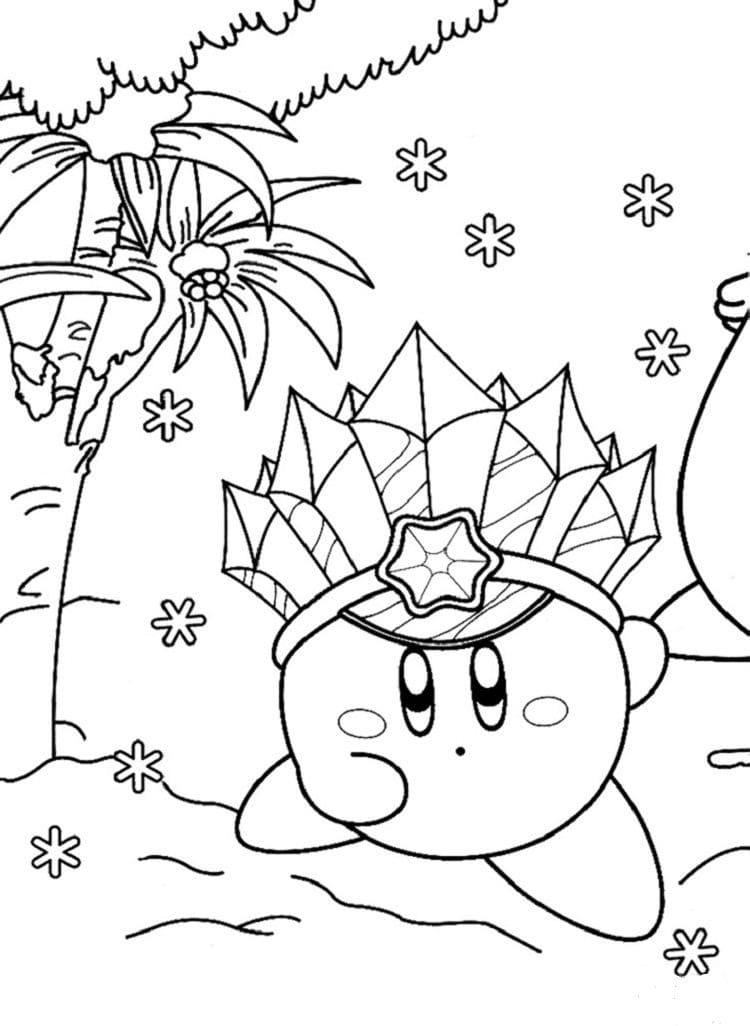 Desenhos de Poder Kirby para colorir