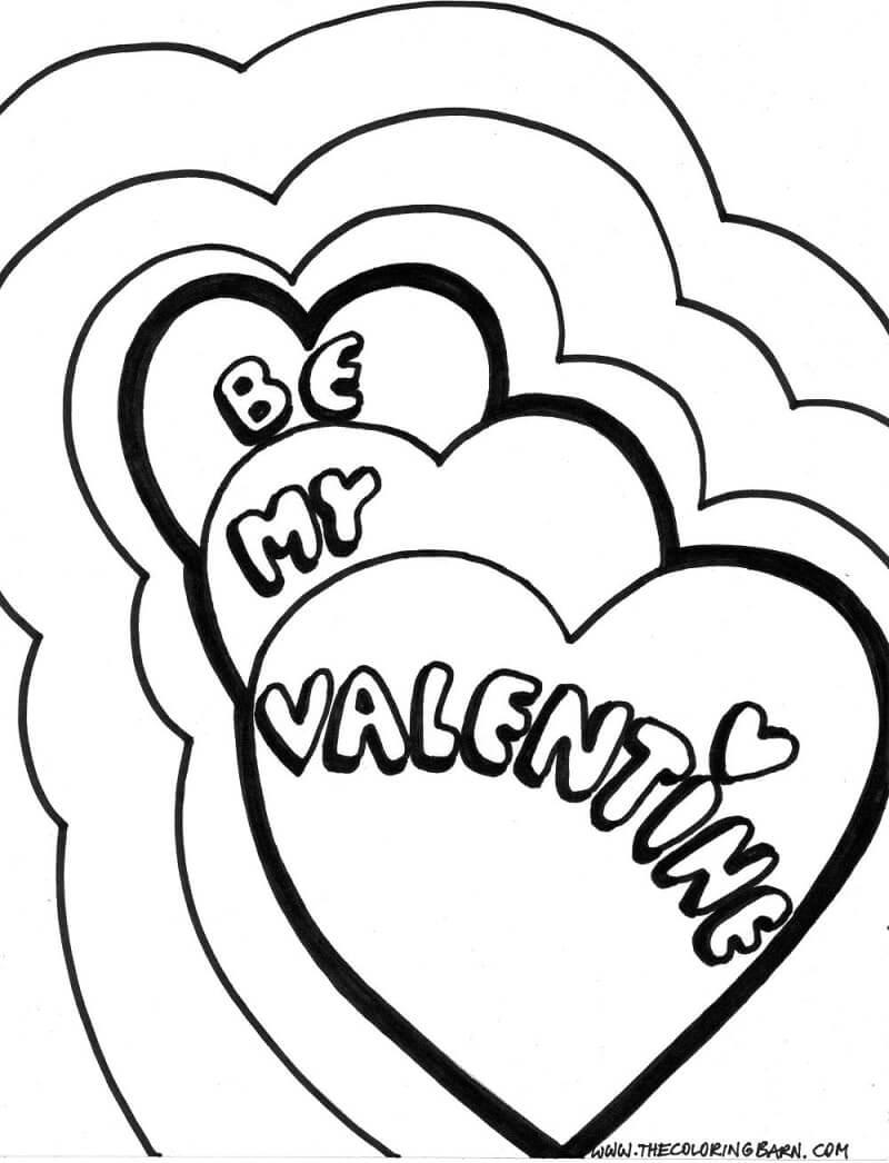 Desenhos de Seja meu Namorado 1 para colorir