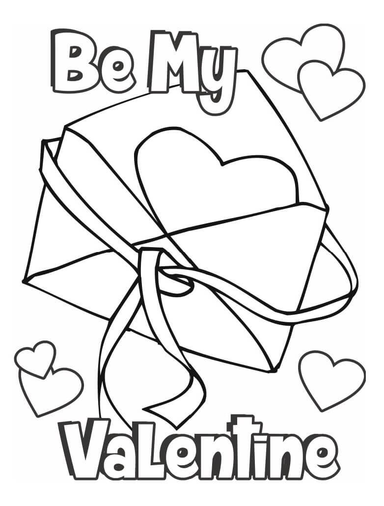 Desenhos de Seja meu Namorado para colorir