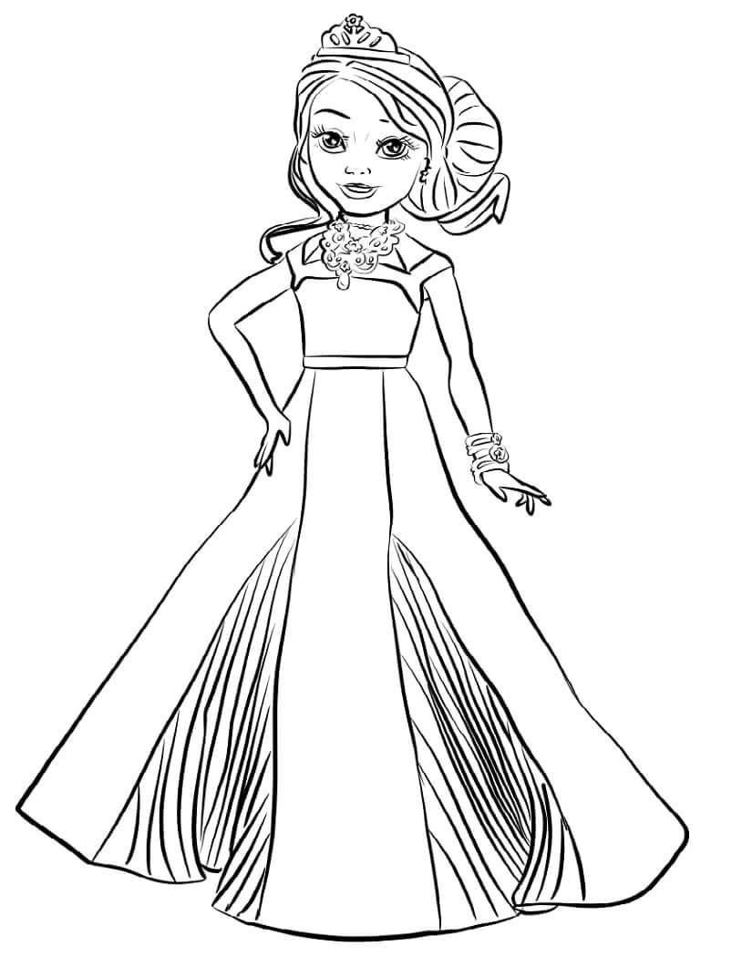 Desenhos de Audrey Descendentes para colorir