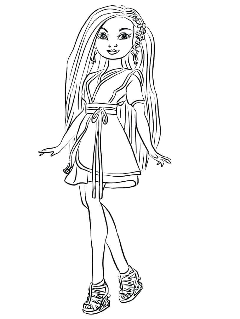 Desenhos de Lonnie de Descendentes para colorir