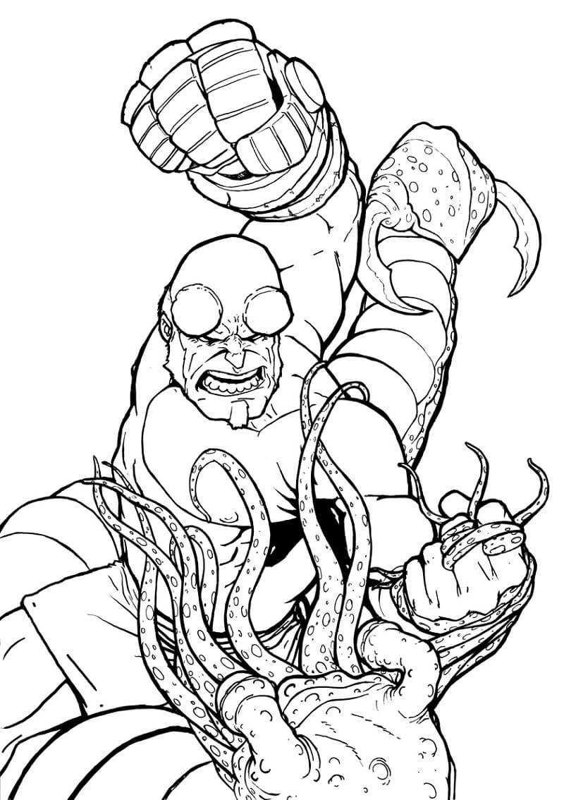 Desenhos de Surpreendente Rapaz do inferno para colorir
