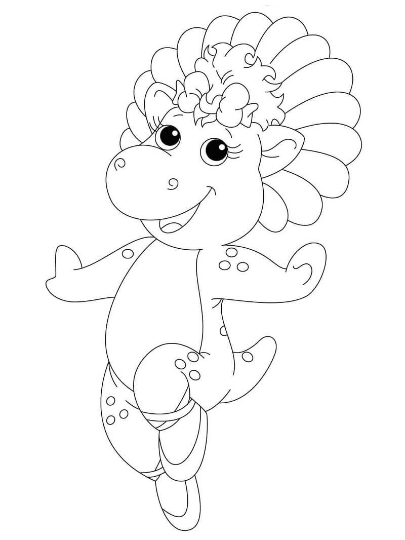 Desenhos de Baby Bop para colorir