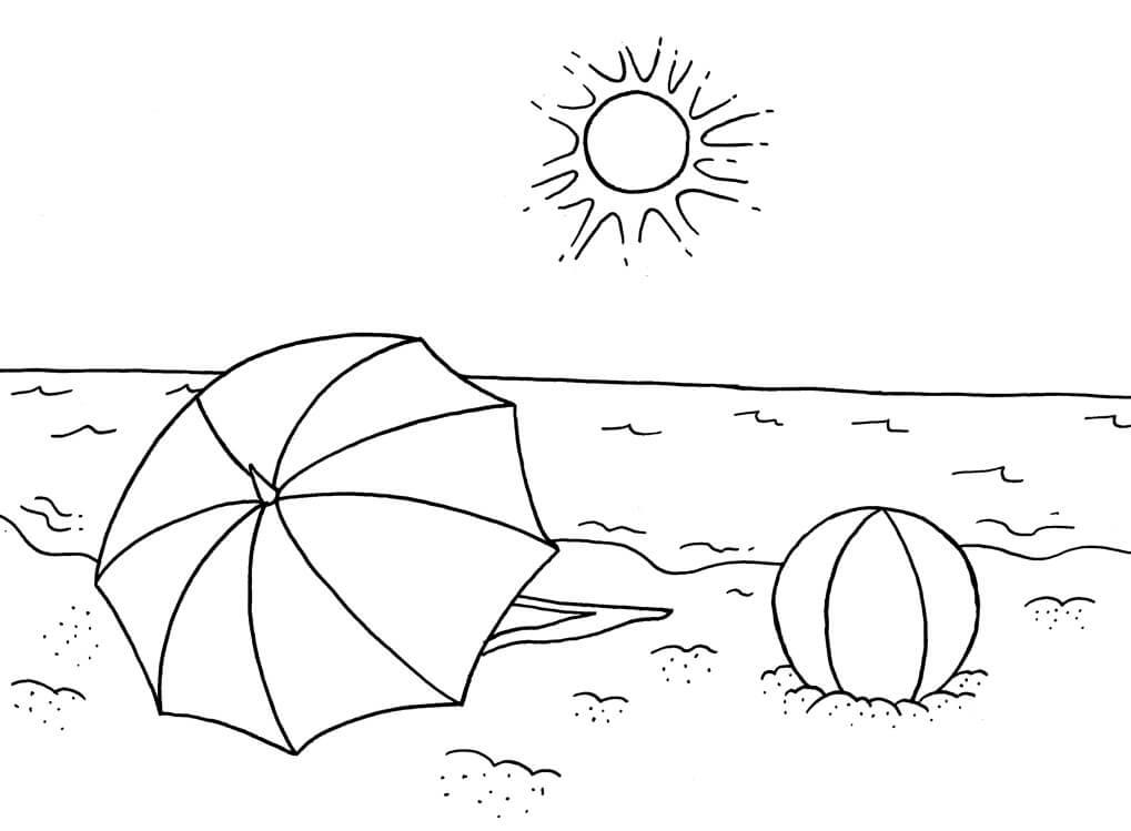 Desenhos de Praia