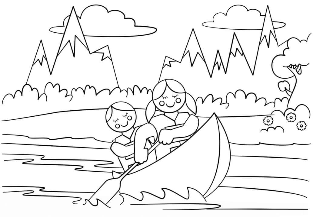 Desenhos de Éclaireuse 15 para colorir