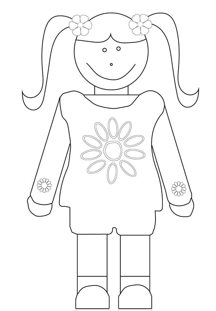 Desenhos de Éclaireuse 8 para colorir