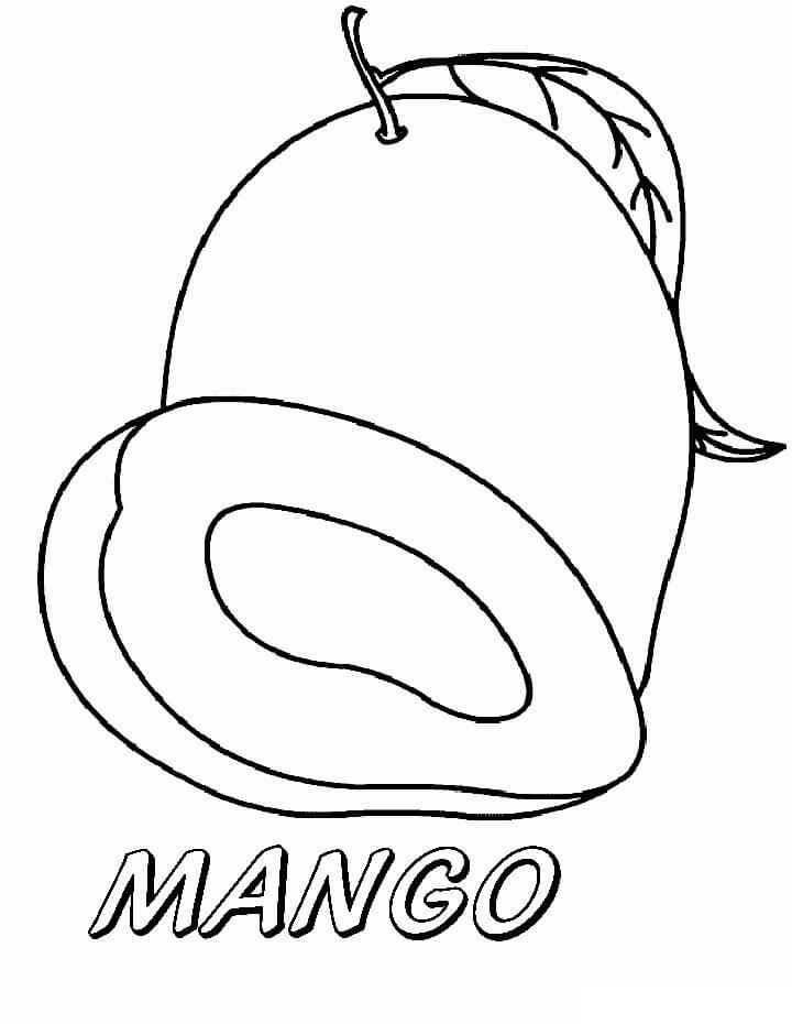Desenhos de Mangas 6 para colorir