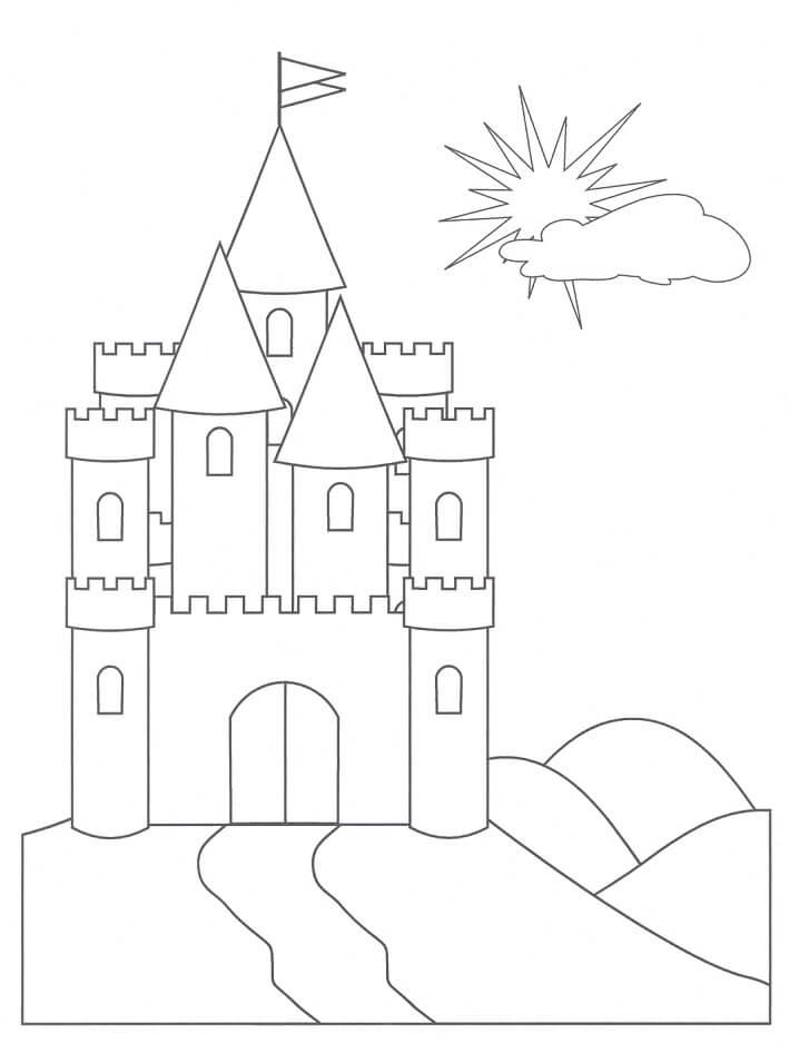 Desenhos de Castelo Incrível 2 para colorir