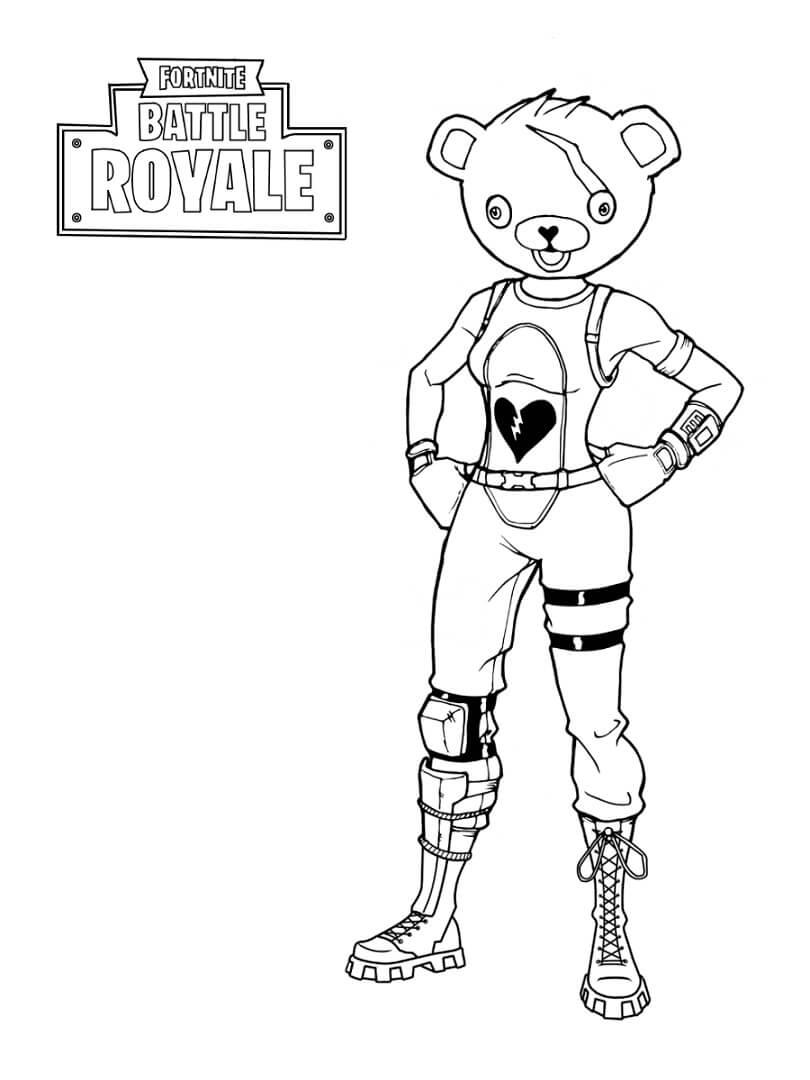 Desenhos de Firework Team Leader para colorir