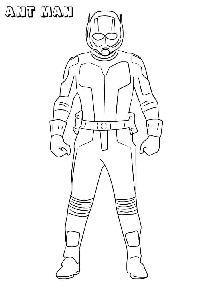 Desenhos de Fomem Formiga Legal 1 para colorir