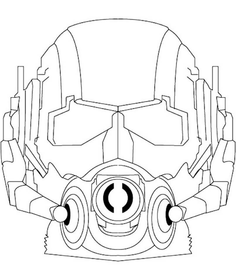 Desenhos de Fomem Formiga Legal 5 para colorir