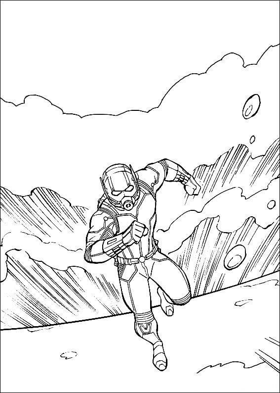 Desenhos de Homem Formiga Incrível 1 para colorir
