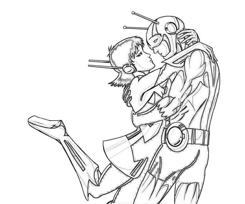 Desenhos de Homem Formiga 2 para colorir