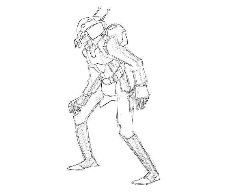 Desenhos de Homem Formiga 3 para colorir