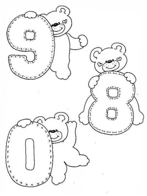 Desenhos de Matemática 14 para colorir