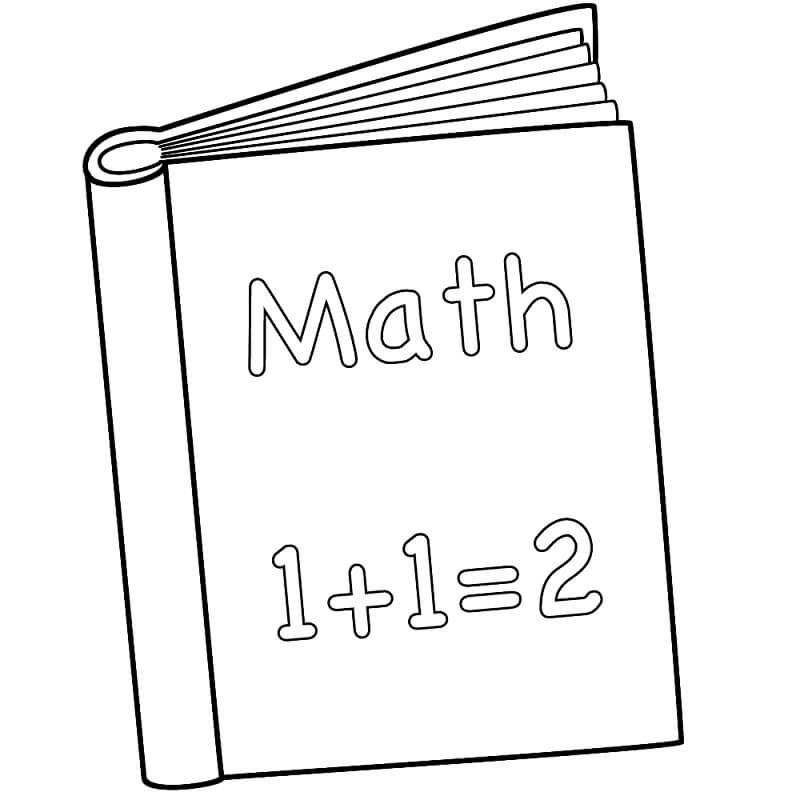 Desenhos de Matemática 16 para colorir