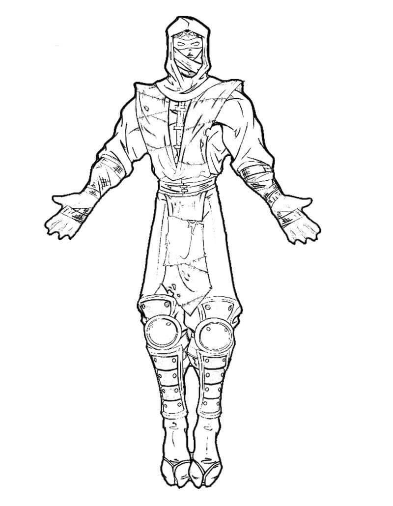 Desenhos de Mortal Kombat 2 para colorir