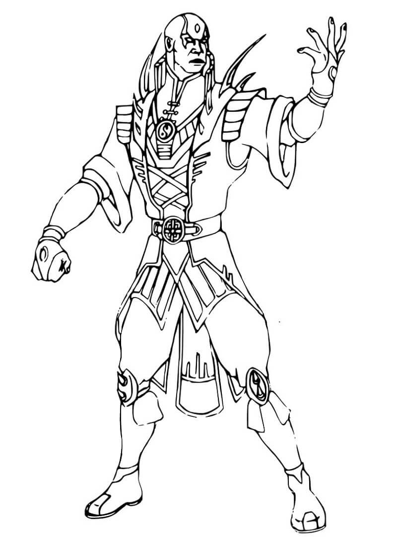 Desenhos de Mortal Kombat 3 para colorir