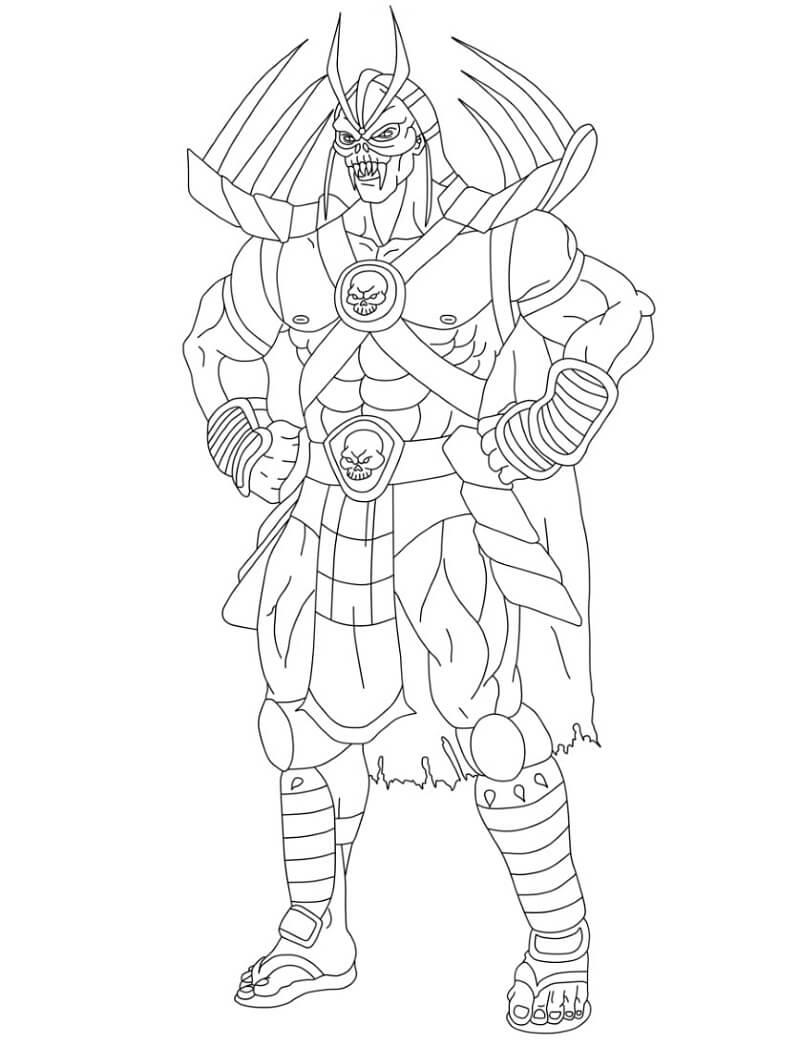 Desenhos de Mortal Kombat 4 para colorir