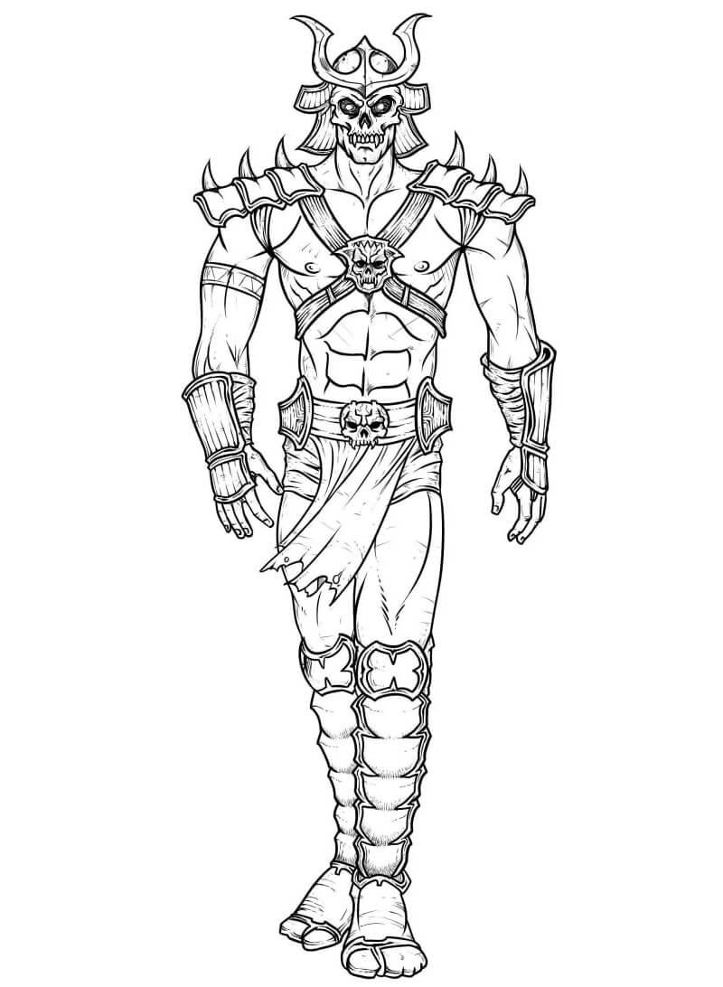 Desenhos de Mortal Kombat 5 para colorir