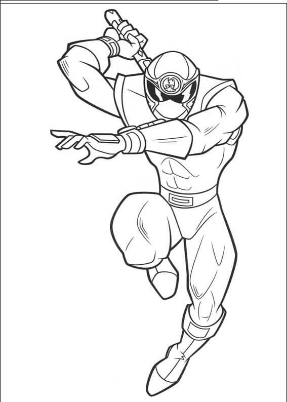 Desenhos de Power Ranger 1 para colorir