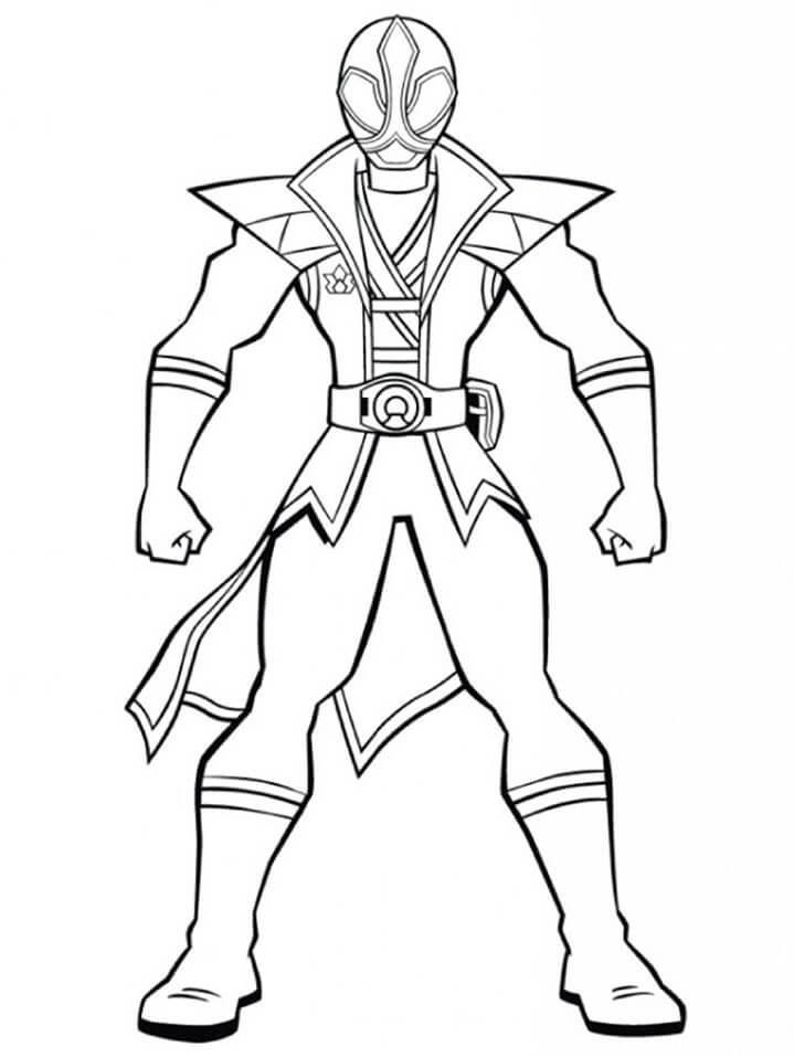 Desenhos de Power Ranger 11 para colorir