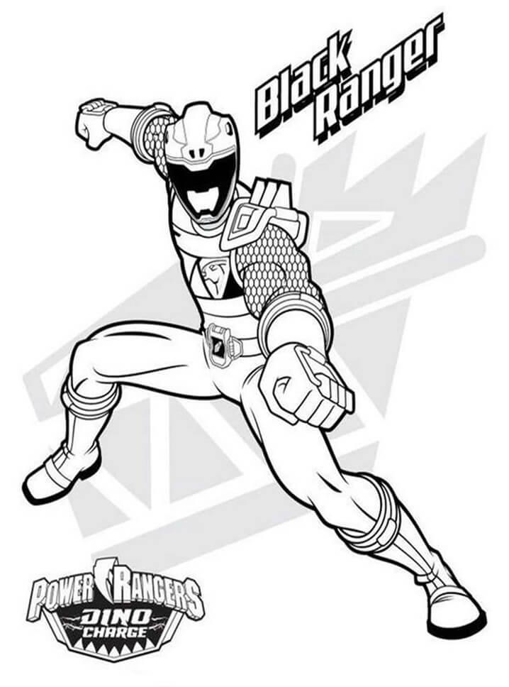 Desenhos de Power Ranger 2 para colorir