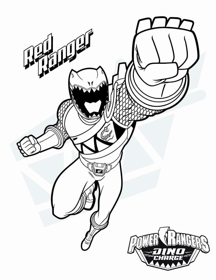 Desenhos de Power Ranger 3 para colorir
