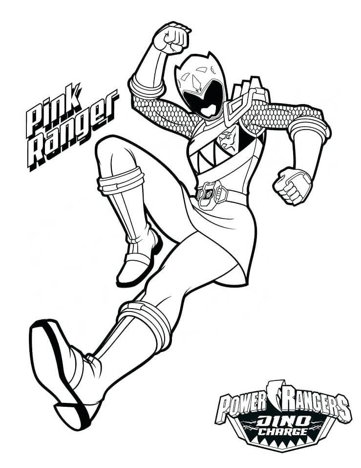 Desenhos de Power Ranger 8 para colorir