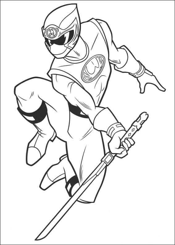 Desenhos de Power Ranger para colorir