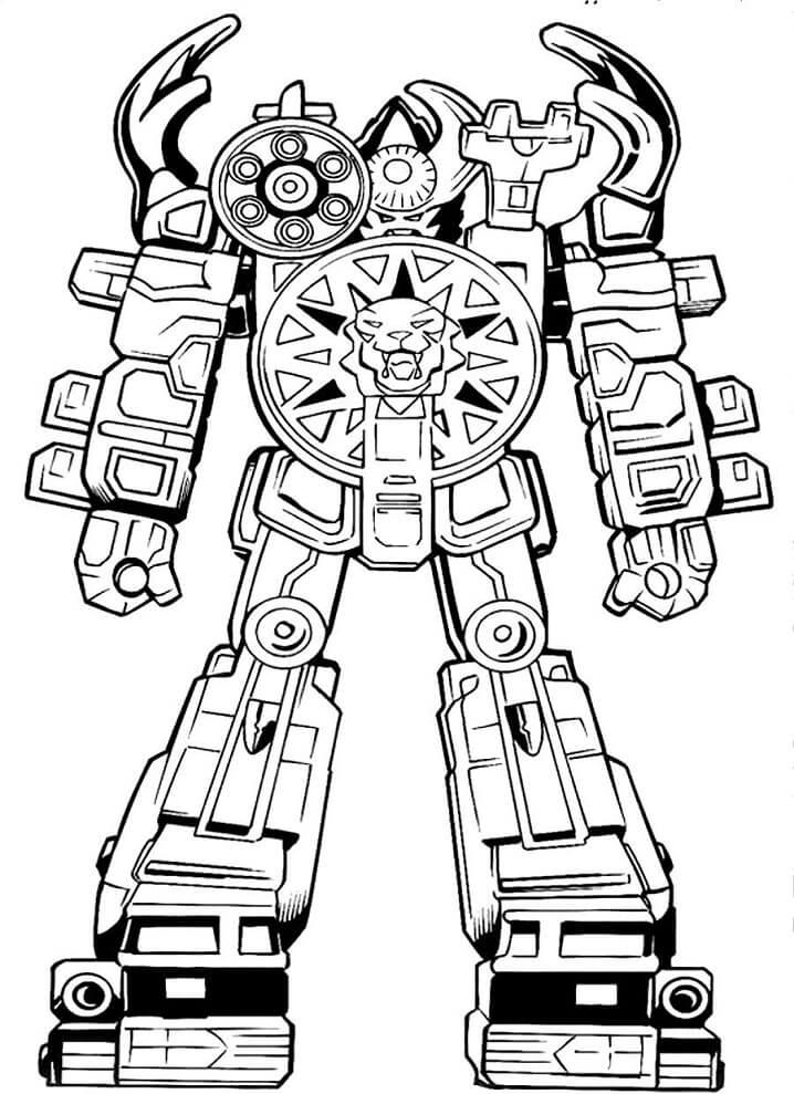 Desenhos de Power Rangers 4 para colorir