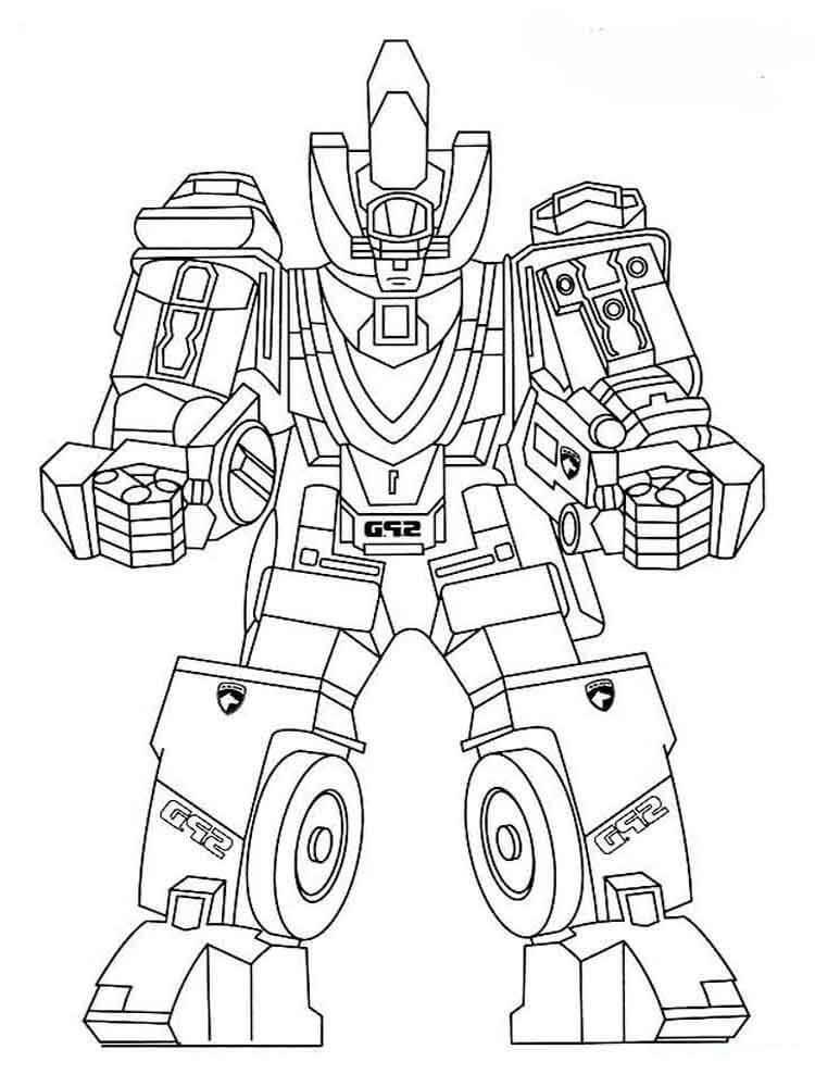 Desenhos de Power Rangers 5 para colorir