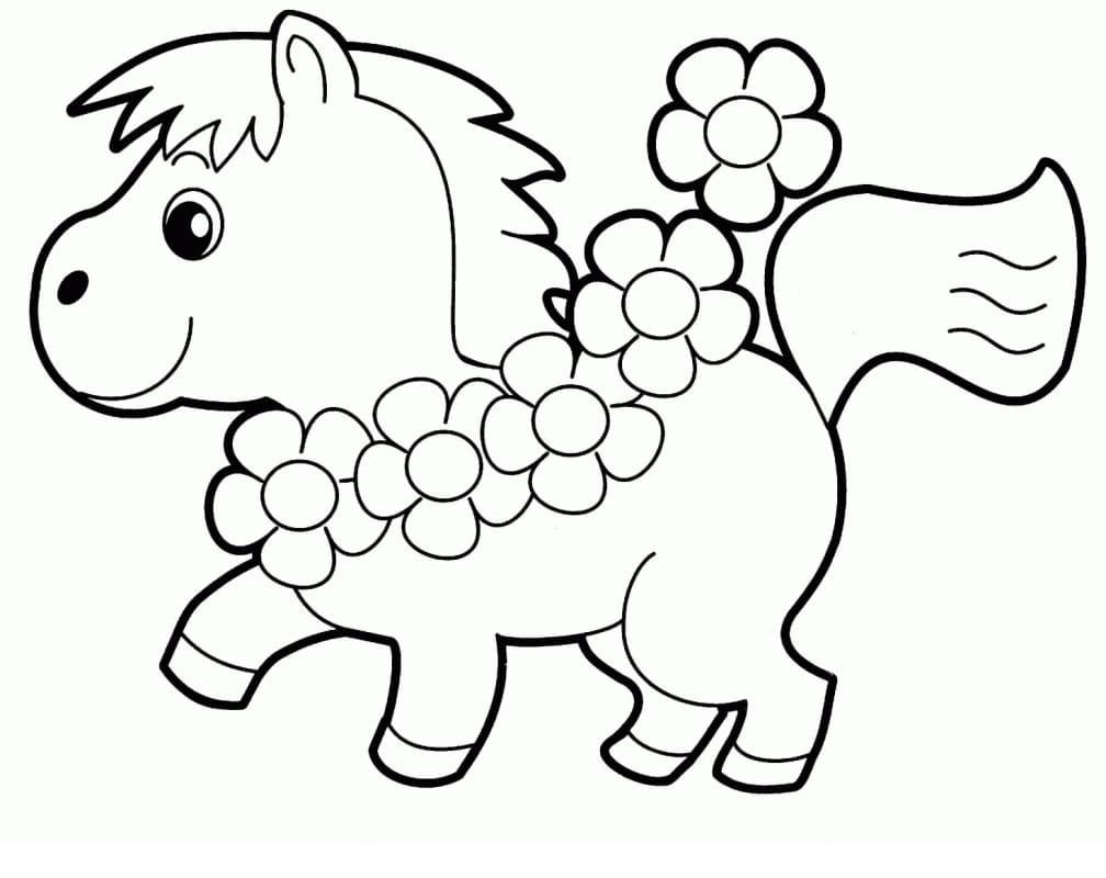 Desenhos de Cavalinho 1 para colorir