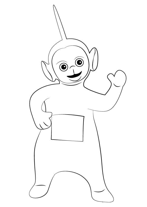 Desenhos de Dipsy 2 para colorir