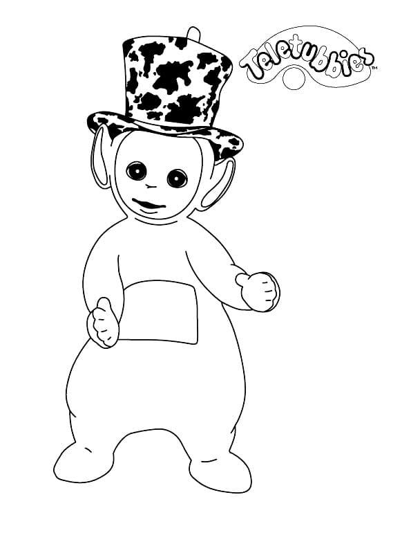 Desenhos de Dipsy para colorir