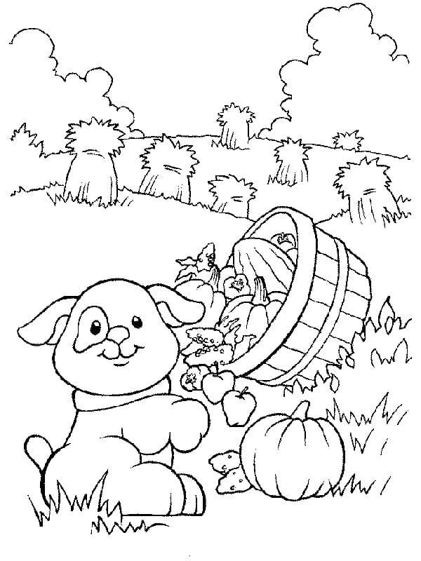 Desenhos de Fazendinha 6 para colorir