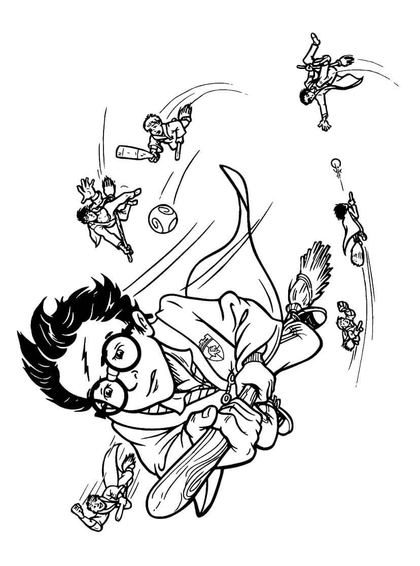 Desenhos de Harry Potter 10 para colorir