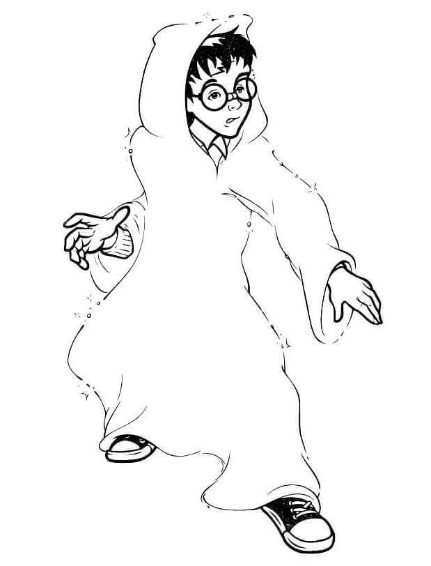 Desenhos de Harry Potter 11 para colorir