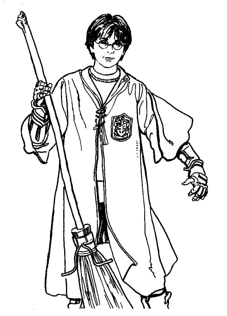 Desenhos de Harry Potter 14 para colorir