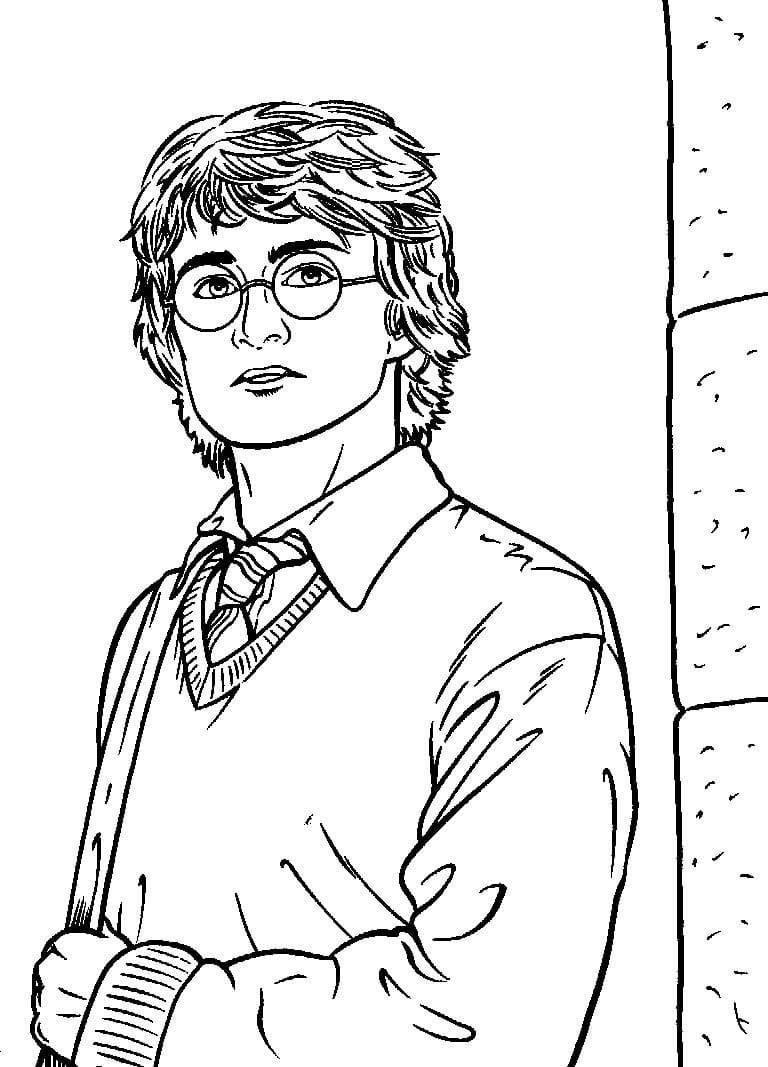 Desenhos de Harry Potter 15 para colorir