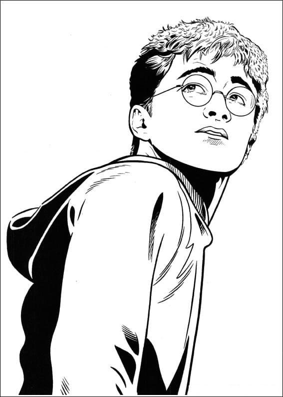 Desenhos de Harry Potter 20 para colorir