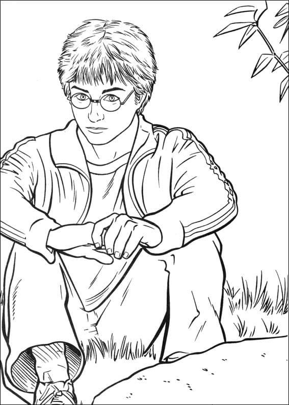 Desenhos de Harry Potter 21 para colorir