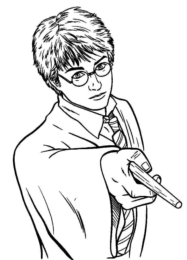 Desenhos de Harry Potter 6 para colorir
