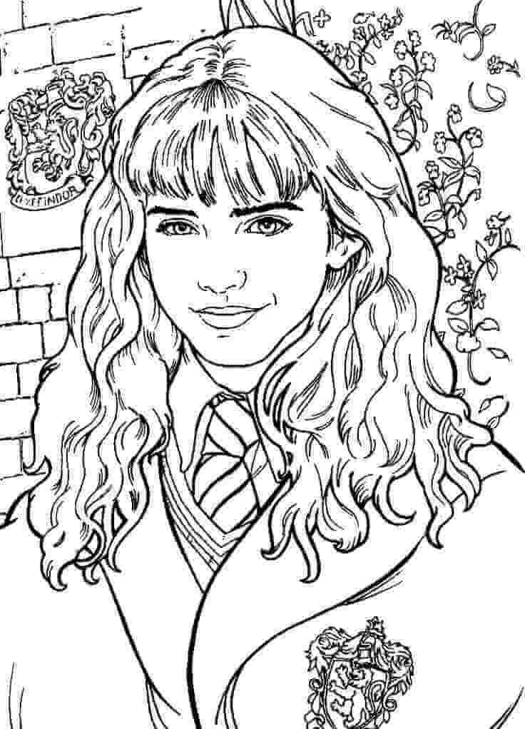 Desenhos de Hermione Granger 2 para colorir