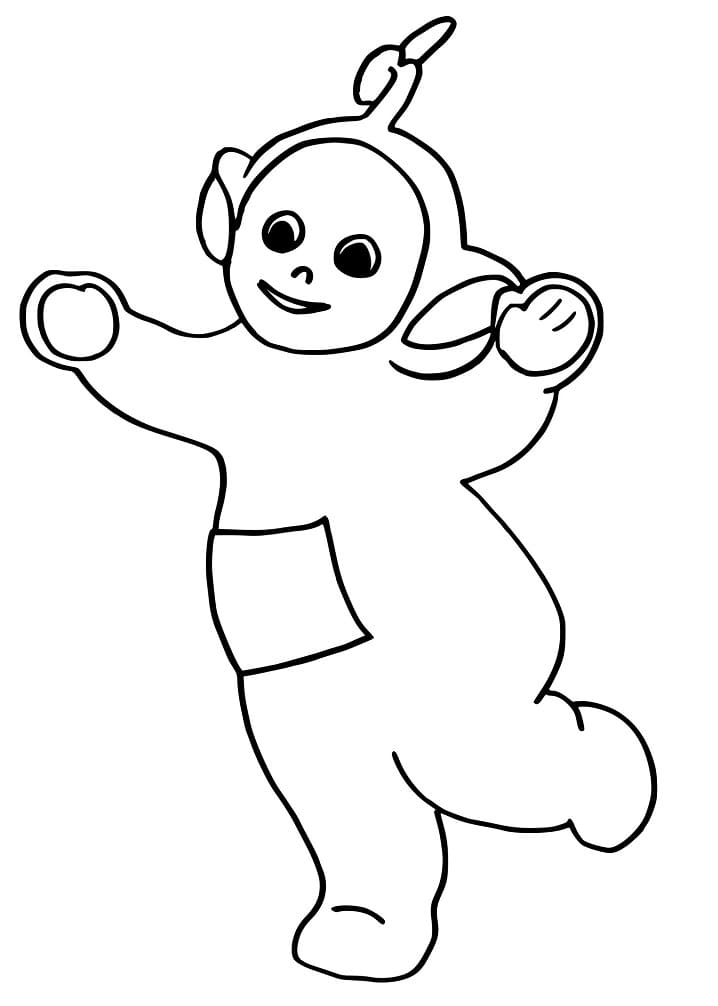 Desenhos de Laa-Laa 6 para colorir