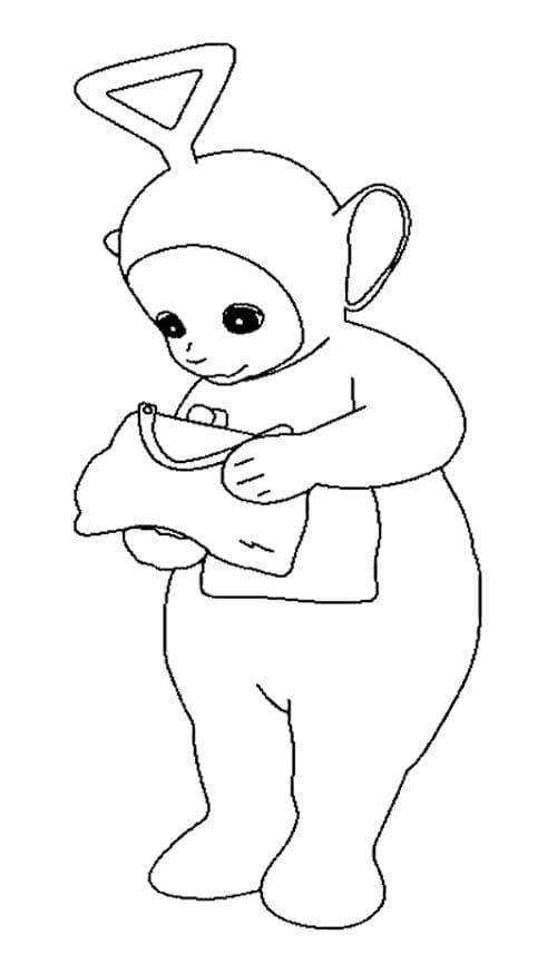 Desenhos de Tinky-Winky 2 para colorir